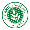 The Organic Farming ILSA logo certifies that the fertilizer can be used for organic farming.